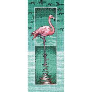 Фламинго Набор для вышивания Heritage PUFM1420E