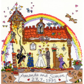 Свадьба Набор для вышивания Bothy Threads XCT23