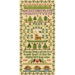 Зеленое дерево Набор для вышивания Bothy Threads XS2