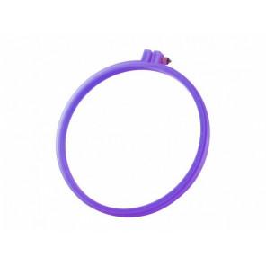 Пяльцы фиолетовые круглые (диаметр 19см) RY4243