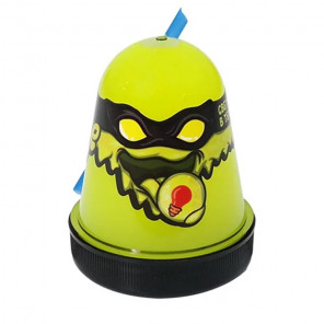Жёлтый, светится в темноте Лизун слайм Slime Ninja 130 г