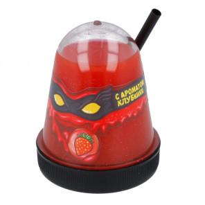 С ароматом клубники Лизун слайм Slime Ninja 130 г
