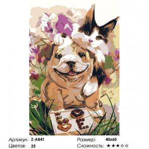 Сложность и количество цветов С любовью Раскраска по номерам на холсте Живопись по номерам Z-AB41