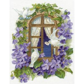 На крыльях любви-2 Набор для вышивания Овен 1048