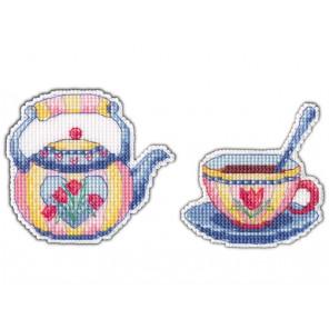 Приятного чаепития-2 Набор для вышивания Овен 1085