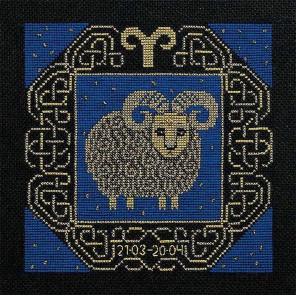 Овен Набор для вышивания Риолис 1201