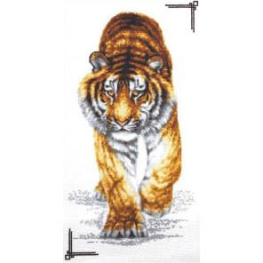 Поступь тигра Набор для вышивания Палитра