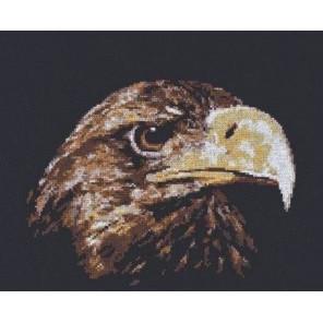 Взгляд орла Набор для вышивания Палитра