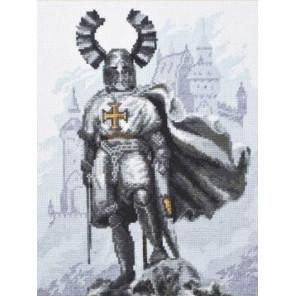 Рыцарский замок Набор для вышивания Палитра