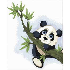 Панда на ветке Набор для вышивания Овен 521