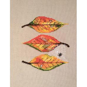 Осенние листья Набор для вышивания Марья Искусница