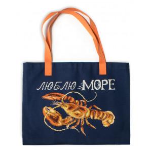 В рамке Люблю море Набор для создания сумки Марья Искусница 22.003.03