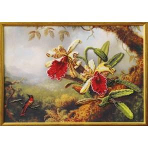 Орхидеи Вышивка бисером Набор Чаривна Мить