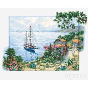 Морской пейзаж Набор для вышивания Luca-S B2343