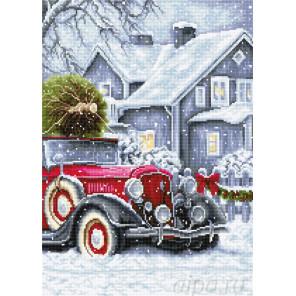 Зимние праздники Набор для вышивания Luca-S BU4010