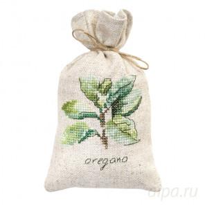 Орегано Набор для вышивания мешочка для саше Luca-S PM1237