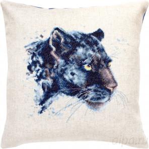 Пантера Набор для вышивания подушки Luca-S PB184