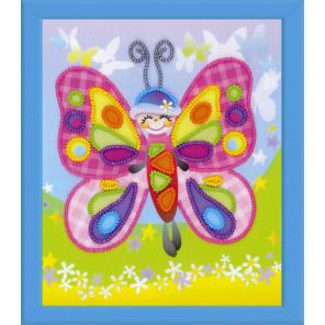 Сказочная бабочка Набор для вышивания Риолис