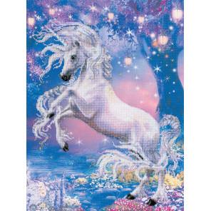 Фрагмент Единорог Набор для вышивания Риолис 0024РТ