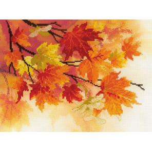 Краски осени Набор для вышивания Риолис