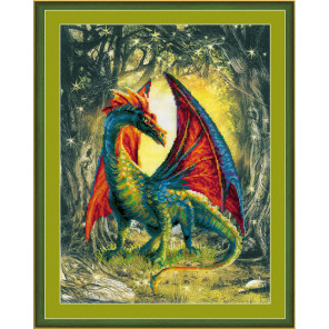 Лесной дракон Набор для вышивания Риолис 0057РТ