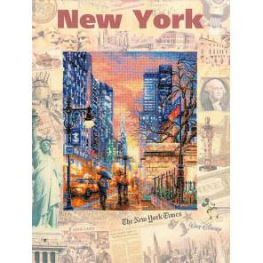 Города мира. Нью-Йорк Набор для вышивания Риолис 0025 РТ