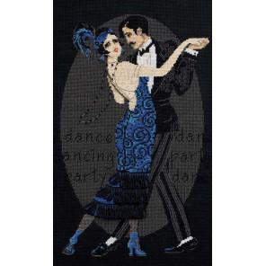 Танцевальное кафе Набор для вышивания Риолис 1244