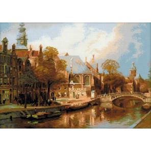 В рамке Амстердам. Старая церковь св.Николая Набор для вышивания Риолис 1189