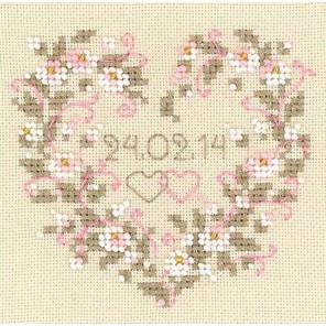 От всего сердца Набор для вышивания Риолис 1405