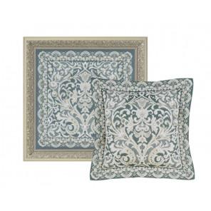 2_2 Венское кружево Набор для вышивания подушки, пано Риолис