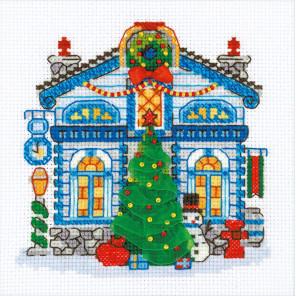 Ледяной домик Набор для вышивания Риолис 1662