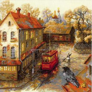 Теплая осень Набор для вышивания Риолис 1676