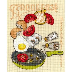 Завтрак Набор для вышивания Риолис 1684