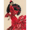 Танцовщица Набор для вышивания Риолис