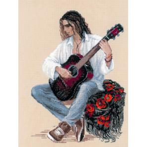 Гитарист Набор для вышивания Риолис 1766