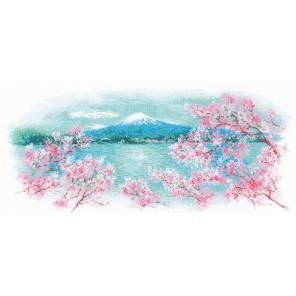 Сакура. Фудзи Набор для вышивания Риолис 1744