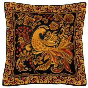 2_2 Хохлома Набор для вышивания подушки, пано Риолис
