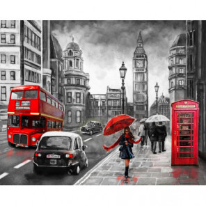 Улица Лондона Алмазная вышивка мозаика Алмазное Хобби