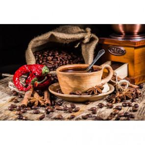 Терпкий кофе Алмазная вышивка мозаика Алмазное Хобби
