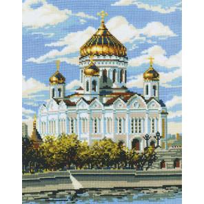 Храм Христа Спасителя Набор для вышивания Риолис 303