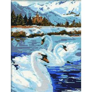 Лебеди Набор для вышивания Риолис 662