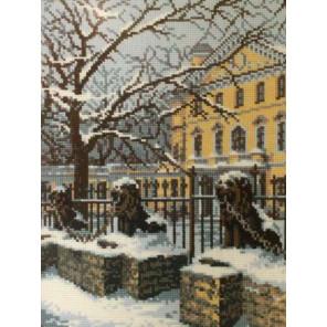 В рамке Зимний Петербург Набор для вышивания Риолис 660