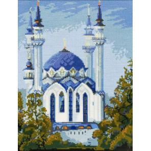 В рамке Мечеть Кул Шариф в Казани Набор для вышивания Риолис 785