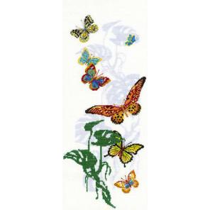 Экзотические бабочки Набор для вышивания Риолис 903