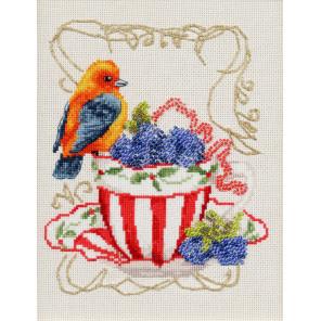 Вкусняшки для пташки Набор для вышивания Золотое Руно СШ-014