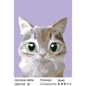 Проказник Раскраска по номерам на холсте Живопись по номерам A516