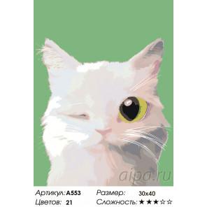 Весельчак Раскраска по номерам на холсте Живопись по номерам A553