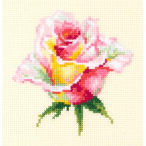 Нежная роза Набор для вышивания Чудесная игла 150-004