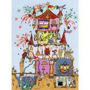 Дворец принцессы Набор для вышивания Bothy Threads XCT2