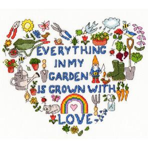 Сердце сада Набор для вышивания Bothy Threads XJA9